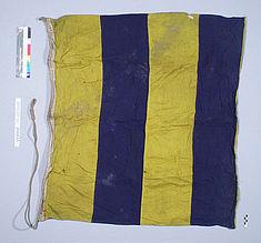 """Vorzustand der Flagge """"G"""". Foto: F. Bergmann"""