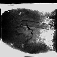 Komplexer in-situ Befund aus dem Frauengrab AE 329/ Immenbeck